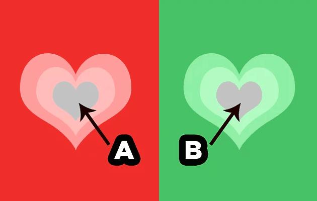 Renk Testi Kalp Resmi