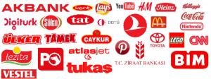 Kırmızı Tonlarının Kullanıldığı Markalar