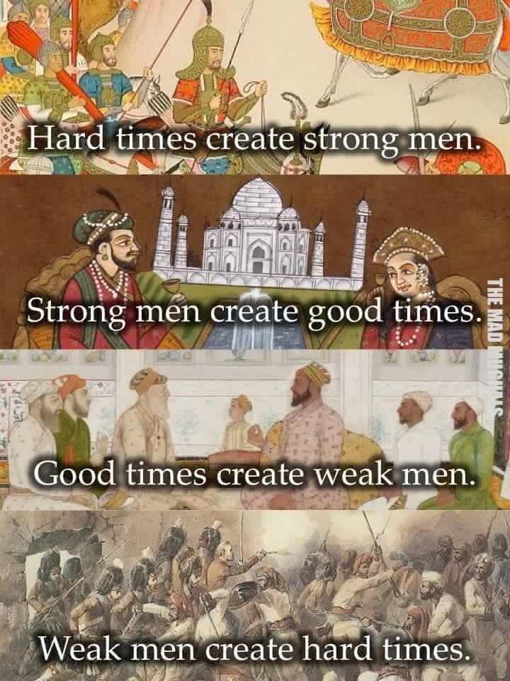 Zor Zamanlar Güçlü İnsanlar Yapar