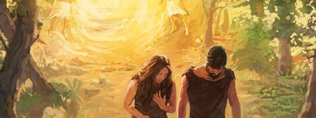 Adem ve Havva'nın Cennetten Kovuluşu (Temsili)