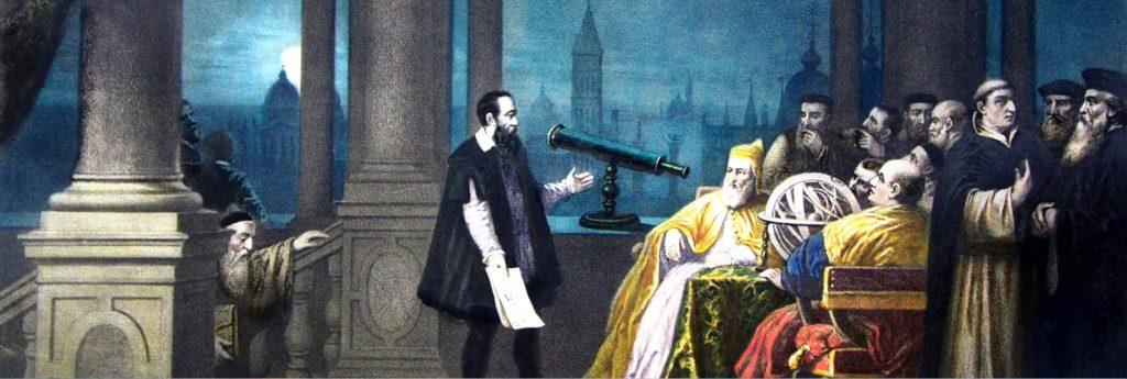 Galileo Yargılanırken (Tarihi Tablo)