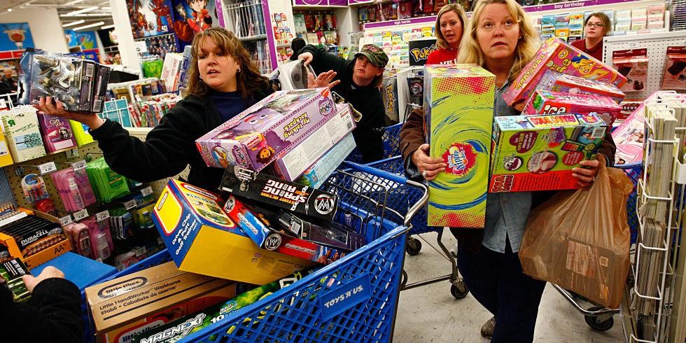 Alışveriş Çılgınlığı Nedir Konulu Çalışma